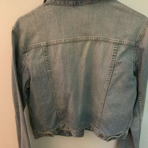 Gap Distressed Jean Jacket
